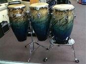 LP PERFORMER SERIES 3 Piece Conga Set with Lp M290 and LP 636 Stands